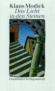 Cover-Bild zu Modick, Klaus: Das Licht in den Steinen