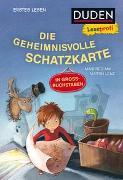 Cover-Bild zu Mai, Manfred: Duden Leseprofi - GROSSBUCHSTABEN: DIE GEHEIMNISVOLLE SCHATZKARTE, Erstes Lesen