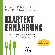 Cover-Bild zu Bracht, Dr. med. Petra: Klartext Ernährung (Audio Download)