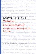 Cover-Bild zu Steiner, Rudolf: Wahrheit und Wissenschaft