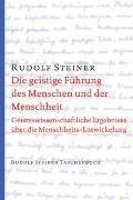 Cover-Bild zu Steiner: Die geistige Führung des Menschen und der Menschheit