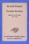 Cover-Bild zu Steiner, Rudolf: Goethe-Studien