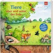 Cover-Bild zu Zeise, Lena (Illustr.): Tiere über und unter der Erde