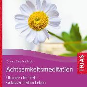 Cover-Bild zu Achtsamkeitsmeditation (Audio Download) von Stock, Christian