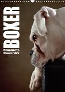 Cover-Bild zu Behr, Jana: Boxer - Charmante Charakterköpfe (Wandkalender 2021 DIN A3 hoch)