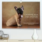 Cover-Bild zu Behr, Jana: Charme auf vier Pfoten - Französische Bulldoggen Portraits (Premium, hochwertiger DIN A2 Wandkalender 2021, Kunstdruck in Hochglanz)