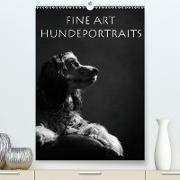 Cover-Bild zu Behr, Jana: Fine Art Hundeportraits (Premium, hochwertiger DIN A2 Wandkalender 2021, Kunstdruck in Hochglanz)