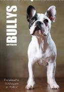 Cover-Bild zu Behr, Jana: Bullys mit Charme - Französische Bulldoggen im Portrait (Wandkalender 2022 DIN A2 hoch)