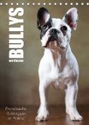 Cover-Bild zu Behr, Jana: Bullys mit Charme - Französische Bulldoggen im Portrait (Tischkalender 2022 DIN A5 hoch)