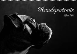 Cover-Bild zu Behr, Jana: Hundeportraits Fine Art (Wandkalender 2022 DIN A2 quer)