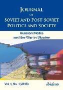 Cover-Bild zu Makarychev, Andrey (Hrsg.): Journal of Soviet and Post-Soviet Politics and Society (eBook)
