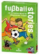 Cover-Bild zu Harder, Corinna: black stories junior - fußball stories