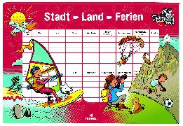Cover-Bild zu black stories Junior Stadt Land Ferien