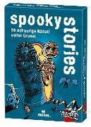 Cover-Bild zu Harder, Corinna: black stories junior - spooky stories