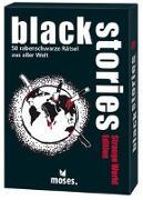 Cover-Bild zu Harder, Corinna: black stories - Strange World Edition