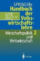 Cover-Bild zu Börsch-Supan, Axel (Hrsg.): Springers Handbuch der Volkswirtschaftslehre 2