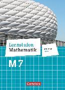 Cover-Bild zu Berkemeier, Helga: Lernstufen Mathematik, Mittelschule Bayern 2017, 7. Jahrgangsstufe, Schülerbuch, Für M-Klassen