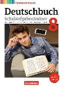Cover-Bild zu Deutschbuch Gymnasium 8. Schuljahr. Neubearbeitung. Schulaufgabentrainer mit Lösungen. BY von Kößler-Finkenzeller, Bärbel