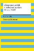 Cover-Bild zu Horváth, Ödön von: Geschichten aus dem Wiener Wald. Textausgabe mit Kommentar und Materialien