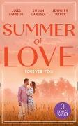 Cover-Bild zu Bennett, Jules: Summer Of Love: Forever You: From Best Friend to Bride (The St. Johns of Stonerock) / His Best Friend's Baby / Best Friend to Perfect Bride (eBook)