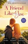 Cover-Bild zu Bennett, Jules: A Friend Like You/Playboy Boss, Live-In Mistress/From Friend to Fake Fiancé/The Bull Rider's Cowgirl (eBook)