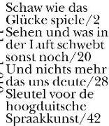 Cover-Bild zu Reinecke, Bertram: Sleutel voor de hogduitsche Spraakkunst