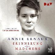 Cover-Bild zu Ernaux, Annie: Erinnerung eines Mädchens (Audio Download)