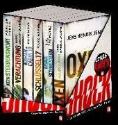 Cover-Bild zu Adler-Olsen, Jussi: Box BILD Mega-Thriller 2021 - 6 Bände