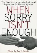 Cover-Bild zu Brooks, Roy L. (Hrsg.): When Sorry Isn't Enough (eBook)