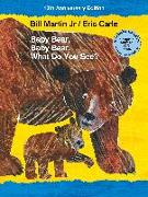 Cover-Bild zu Martin, Bill, Jr.: Baby Bear, Baby Bear, What Do You See? 10th Anniversary Edition with Audio CD