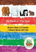 Cover-Bild zu Martin, Bill, Jr.: Brown Bear & Friends 4 Board Book Gift Set