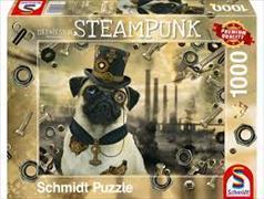 Cover-Bild zu Steampunk Hund 1000 Teile