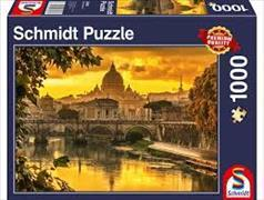 Cover-Bild zu Goldenes Licht über Rom 1000 Teile