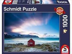 Cover-Bild zu Hütte an der Atlantikküste 1000 Teile