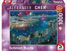 Cover-Bild zu Feuerwerk über Hongkong 1000 Teile