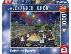 Cover-Bild zu Feuerwerk am Louvre 1000 Teile