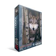 Cover-Bild zu Eurographics puzzle. Grauer Wolf