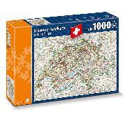 Cover-Bild zu Schweizer Landkarte