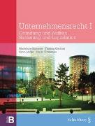Cover-Bild zu Simonek, Madeleine: Unternehmensrecht I