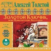 Cover-Bild zu Tolstoj, Aleksej: DETYAM ot 3 do 7 let. Aleksej Tolstoj. Zolotoj klyuchik ili Priklyucheniya Buratino (Audio Download)
