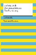 Cover-Bild zu Tieck, Ludwig: Der blonde Eckbert / Der Runenberg. Textausgabe mit Kommentar und Materialien (eBook)