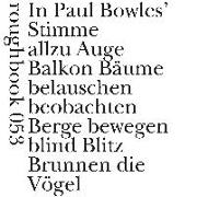 Cover-Bild zu Bowles, Paul: Next To Nothing / Fast nichts