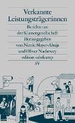 Cover-Bild zu Mayer-Ahuja, Nicole (Hrsg.): Verkannte Leistungsträger:innen