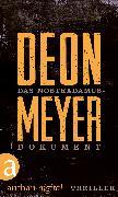 Cover-Bild zu Meyer, Deon: Das Nostradamus-Dokument (eBook)