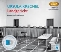 Cover-Bild zu Krechel, Ursula: Landgericht (2 MP3-CDs)
