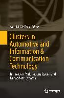 Cover-Bild zu Welfens, Paul J. J. (Hrsg.): Clusters in Automotive and Information & Communication Technology