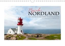 Cover-Bild zu Rech Und Christoph Kopp, Stephan: Magisches Nordland. Eine Reise in das Herz Skandinaviens (Wandkalender 2021 DIN A4 quer)