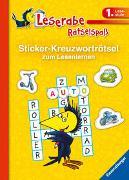 Cover-Bild zu Sticker-Kreuzworträtsel zum Lesenlernen (1. Lesestufe) von Johannsen, Anne