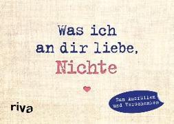 Cover-Bild zu Was ich an dir liebe, Nichte - Miniversion von Reinwarth, Alexandra