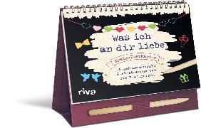 Cover-Bild zu Was ich an dir liebe - Postkarten von Reinwarth, Alexandra